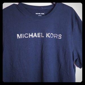 Michael Kors NWT Black Large L Shirt